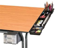 Drafting Table Mat Alvin Black Plastic Drawing Table Tool Organizer Caddy
