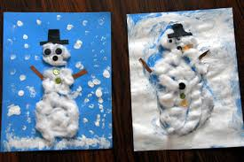 snow day u0026 snowman craft