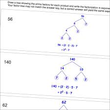 the prime factorization math worksheets are not only great skill
