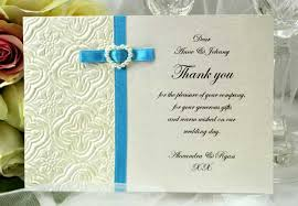thank you notes for wedding gifts thank you cards thank you invitations a2zweddingcards