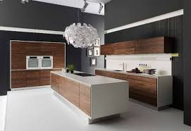 white gloss and wood kitchen homes design inspiration