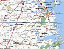 map of virginia and carolina map of virginia and nc virginia map