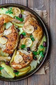 chicken and potato dinner the mediterranean dish