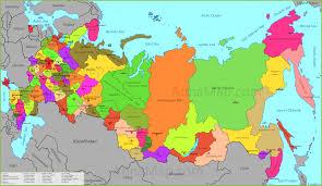 russia map russia map map of russia russian federation annamap