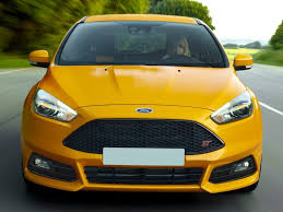 ford focus st yellow ford focus st hatchback models price specs reviews cars com