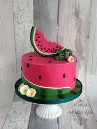 Watermelon Cake Decorating Ideas Watermelon By Aurelia U0027s Cake Cakes U0026 Cake Decorating Daily