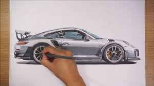 enjoy this hypnotic porsche 911 gt2 rs drawing video the drive