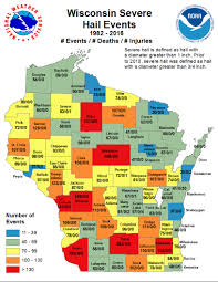 Wisconsin Zip Code Map by Summer Weather Information