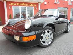 1990 porsche 911 convertible used cars for sale saugus ma 01906 auto excellence group