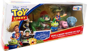 toy story hawaiian vacation buzz woody vacation gift pack