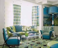 Turquoise Curtains For Living Room Green And Turquoise Living Room White Window Curtains White