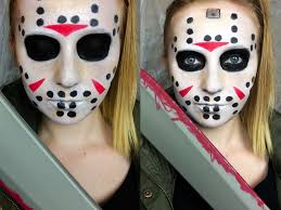 Jason Halloween Mask by Simple Jason Voorhees U0027friday The 13th U0027 Makeup Tutorial Youtube