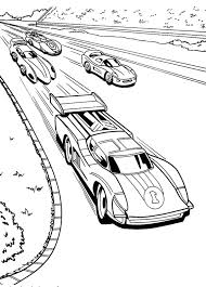 free printable race car coloring pages for kids with race car