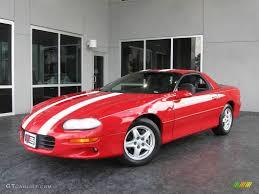 Chevrolet Camaro 1998 1998 Bright Red Chevrolet Camaro Coupe 10141773 Gtcarlot Com