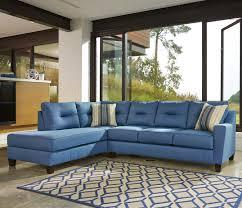 benchcraft kirwin nuvella sectional with sleeper sofa u0026 left