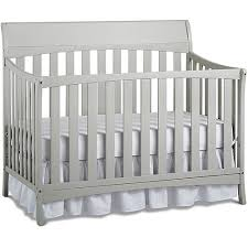 Chelsea Convertible Crib Bivona Company Chelsea 4 In 1 Convertible Crib Gray Walmart