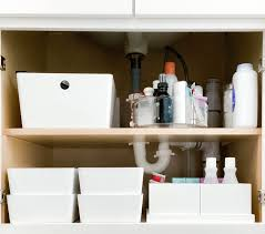 how to organize the sink cabinet simplify studio