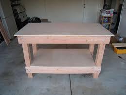 Rolling Work Bench Plans Garage Workbench 2x4 Diy Garage Workbench Plans Printable 2x42x4