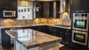 backsplash ideas for dark cabinets fantasy granite dark cabinets backsplash ideas