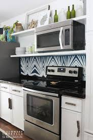 Diy Kitchen Backsplash Tile Ideas Kitchen Remodelaholic Diy Kitchen Backsplash Stenci Diy Kitchen