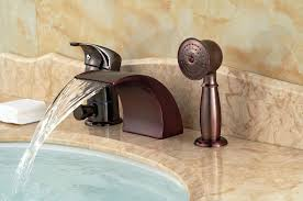 reston wall mount waterfall tub faucet brushed nickel ebay waterfall faucet tub seoandcompany co