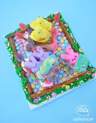make your own peeps house diorama club chica circle