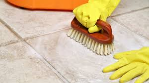 how to clean tile floors with vinegar and baking soda best way to