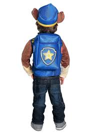 paw patrol halloween deluxe paw patrol chase costume for boys