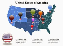 United States Map Powerpoint Template by Usa Map Stock Images Image 36478454 Closeup Of A Red Pushpin On A