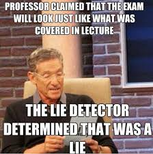 That Was A Lie Meme - the maury lie detector meme greatest hits