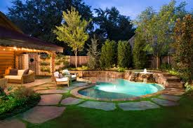 Inground Pool Ideas Backyard Pool Ideas For Small Spaces