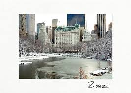 Business Printed Christmas Cards Central Park South New York City Christmas Cards