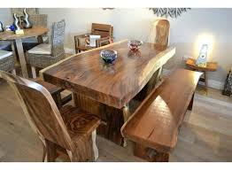 Chunky Rustic Dining Table Chunky Dining Table And Chairs Table Solid Wood Oak Dining Tables