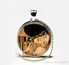 valentines day necklace wholesale s day gift idea the gustav klimt necklace