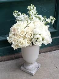 White Floral Arrangements Centerpieces by Part 33