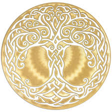 tree of icon 18k gold plated