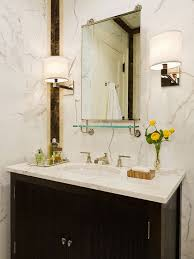 collection in bathroom vanity with marble top and decorative