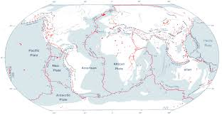 Map Of Tectonic Plates Tectonics Cut U0027n U0027fold Maybe World Maps With Constant Scale