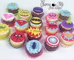 superman cake toppers cupcakes superman batman