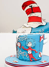 dr seuss cakes thing one thing two cake