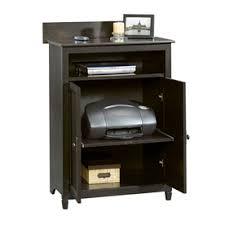 Sauder Laptop Desk Sauder Edge Water Mobile Lifestyle Center Estate Black Cheap