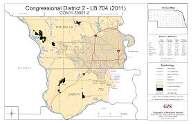 Nebraska State Map by Nebraska Legislature Maps Clearinghouse