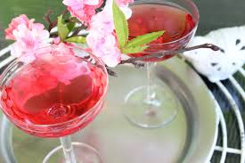 martini drinks cocktails to celebrate cherry blossom season drinking in america