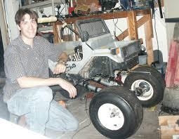 build huge rc monster truck golf cart wheels moped motor