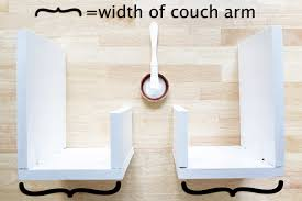 Sofa Arm Table by How To Upholstered Arm Rest End Tables