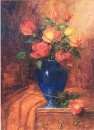 The Blue Vase Art U0026 Spirit By Artist Nora Kasten Art U0026 Spirit By Artist Nora