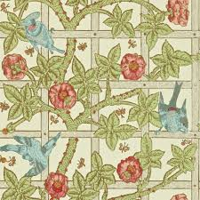 morris u0026 co trellis wallpaper