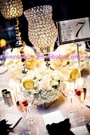 Wedding Candle Holders Centerpieces by New Product Calabash Crystal Centerpiece Wedding Crystal