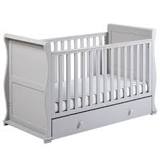 White Sleigh Cot Bed Cot Beds East Coast Nursery
