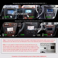 octa core android 6 0 car stereo mercedes benz e cls g class w211